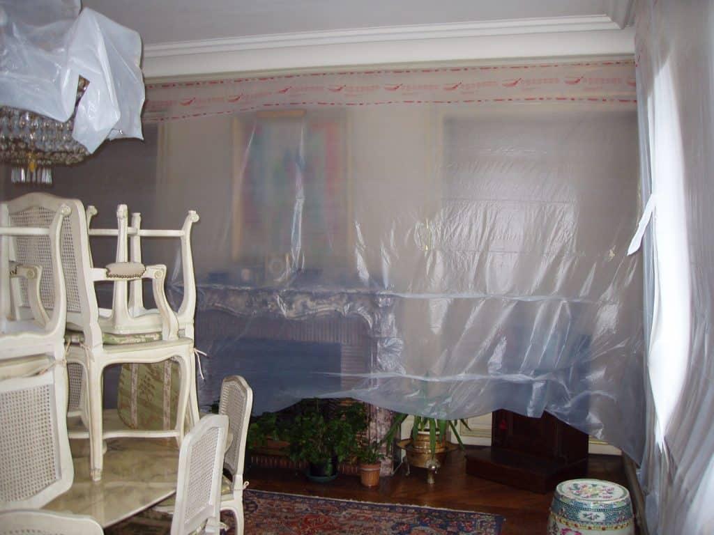 Masquage pour peinture plafond Avantages des applications de peintures au pistolet Airless